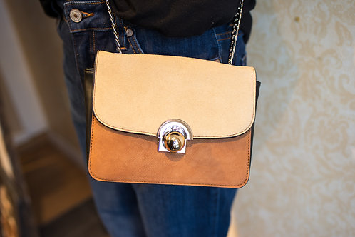 Nicole Lee Two-Toned Crossbody