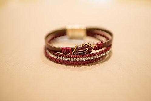 Three Strand Lips Bracelet