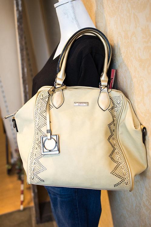 Nicole Lee Cream Handbag