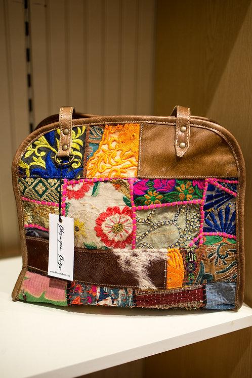 Bhrayna Bag Patchwork/Leather Handbag