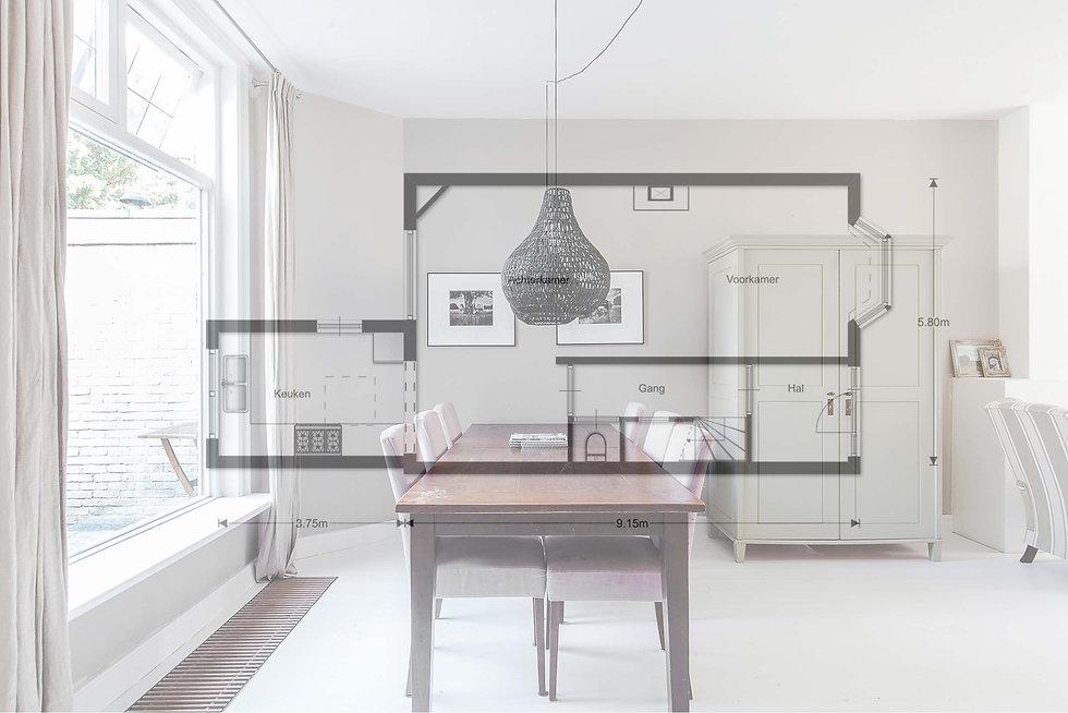 Huis verkopen volgens iREDESIGN met goede plattegronden en professionele foto's