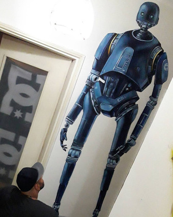 K-2SO STAR WARS ROGUE ONE
