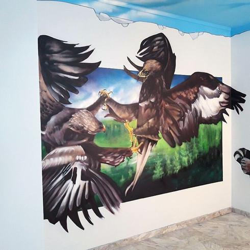EAGLES FIGHT