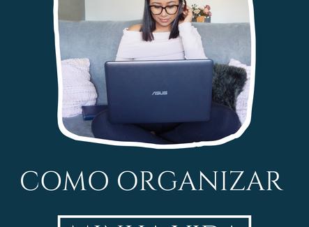 Como Organizar Minha Vida