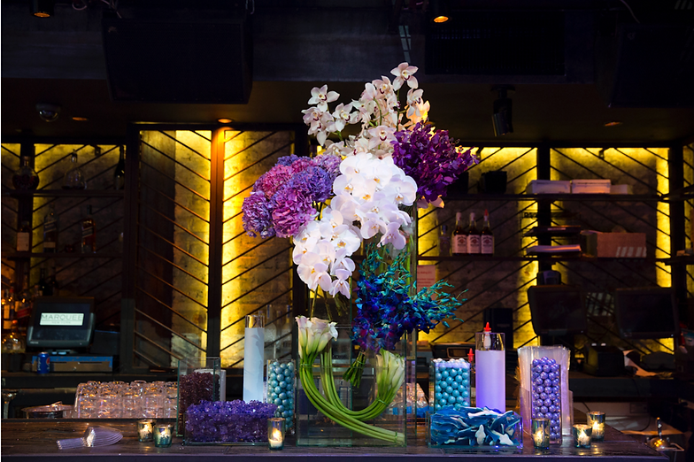 Chandelier events ny wedding event planner mitzvahs maddy at marquee chandelier events aloadofball Choice Image