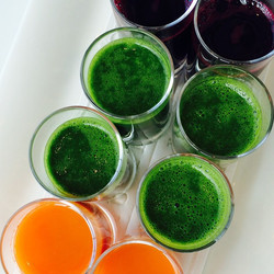Juice Shots at PCASkin Editors Event