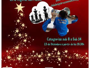 Convocatoria del III Torneo Escolar Servitel Vega San Mateo