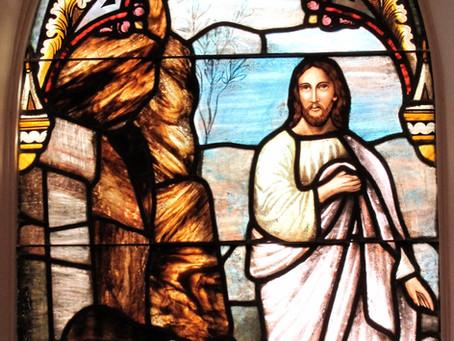 He is Not Here!  He is Risen!