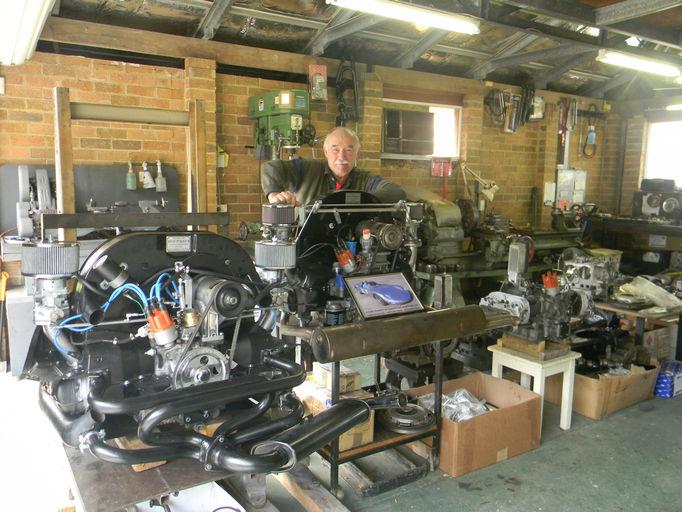 Stan Pobjoys Racing Engineering - High Performance Volkswagen Engines