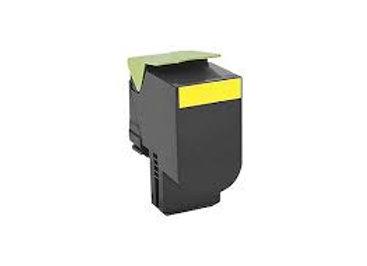 Lexmark  71B10Y0 Compatible Yellow Toner-Cartridge
