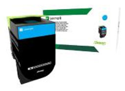 Lexmark   70C1HC0 701HC ORIGINAL Cyan Toner-Cartridge High Yield