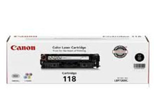 Canon 2662B001 CRG-118BK 2662B009AA GPR-44K Original Black Toner Cartridge LBP52