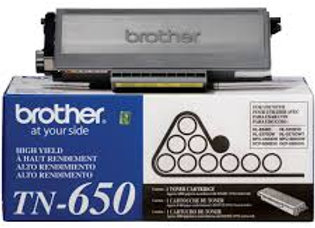Brother TN-650 ORIGINAL Black Toner Cartridge MFC-8480 MFC-8890 HL-5370dw