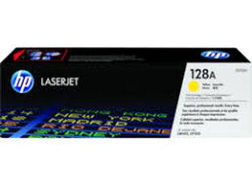 HP CE322A 128A ORIGINAL Yellow Toner Cartridge