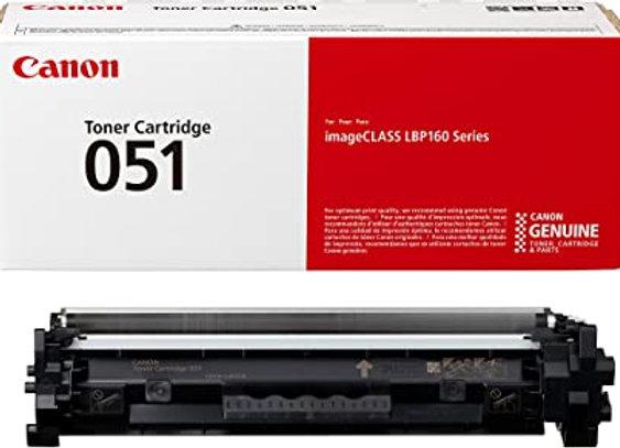 Canon 051 2168C001AA CRG-051 ORIGINAL Black Toner Cartridge