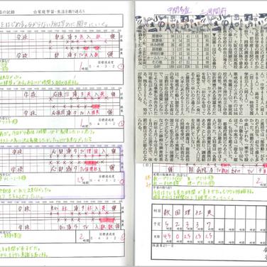 家庭学習ノート