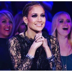 _jlo in #RandallScott on American Idol