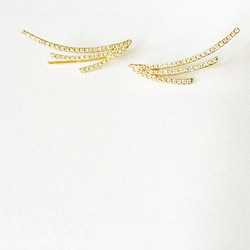 Wear 'em down or as crawlers! 3 wing crawlers are avail! #nowavailable #randallscott #finejewelry #e
