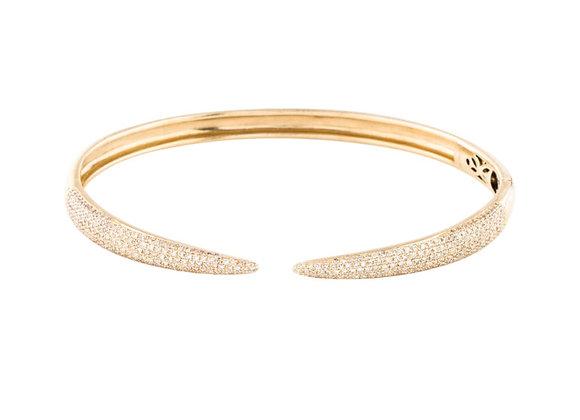 DIAMOND CLAW CUFF BRACELET