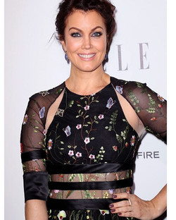 One of our faves, Bellamy Young in a little #RandallScott earlier this week. _kylekagamida #bellamyy
