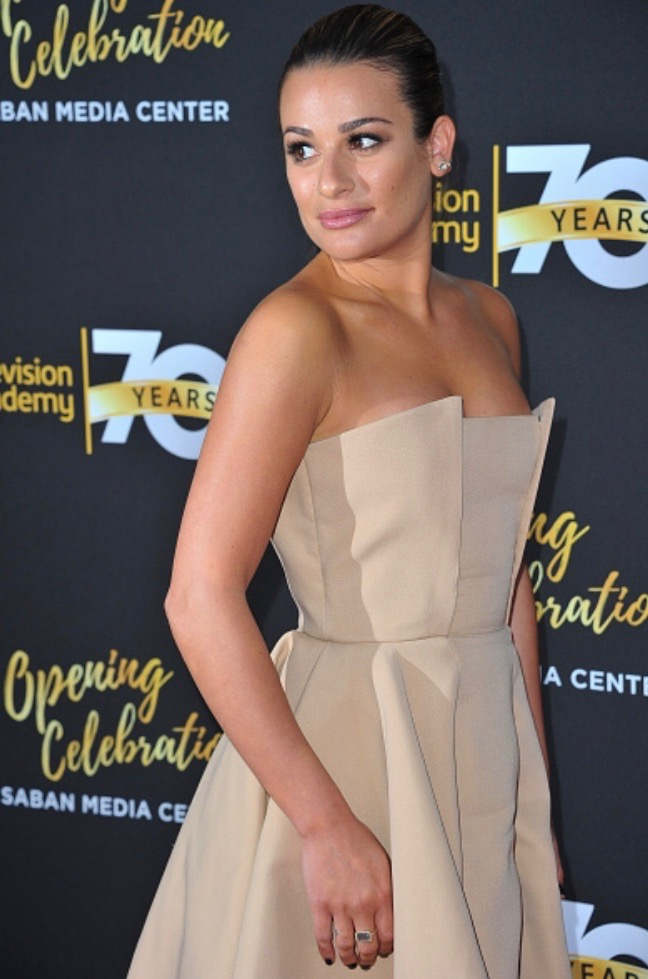 LEA MICHELE RED CARPET