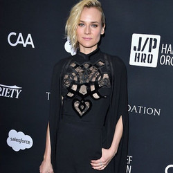 Diane Kruger in a dash of Randall Scott styled by _micahmarcus. #swoon #aboutlastnight #RandallScott