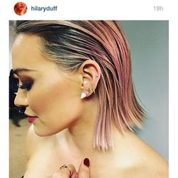 #Repost from _hilaryduff! Fierce in her #RandallScott diamond cone earrings! We 💓 her! #finejewelry