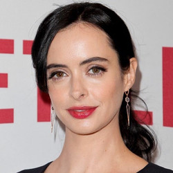 We love _therealkrystenritter in our new labradorite & diamond drops (coming soon) this past weekend
