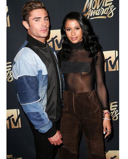 #Latergram with _samimiro wearing #RandallScott to the MTV Movie Awards
