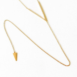 V diamond lariat comes in rose, yellow or white gold and now avail