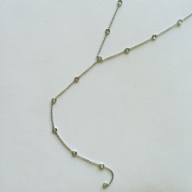 Diamonds by the yard in a new way...lariats! Any color, any length