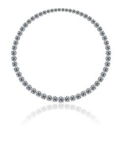 A magnificent round diamonds necklace.jpg 2015-4-13-11:32:23