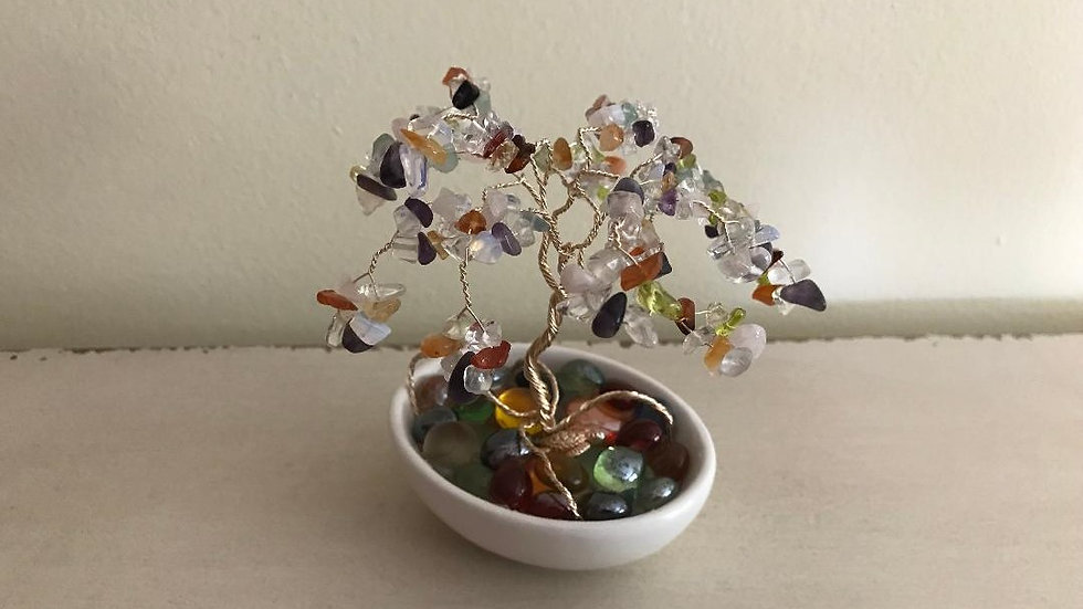 Mixed crystals tree
