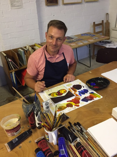 Paint 'n Pint with Dave Akehurst