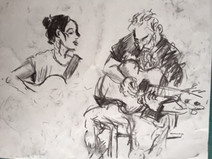 Live Music Drawing