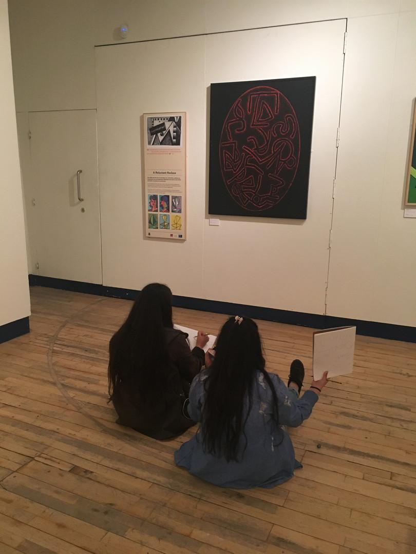Brooksbank students studying