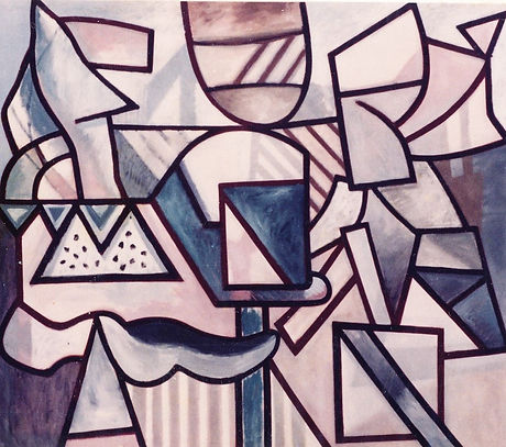 Abstract Art, Gordon Snee, Landscape, The Joy of Seeing, Post War British Art, The Slade Alumini, British Abstract Art