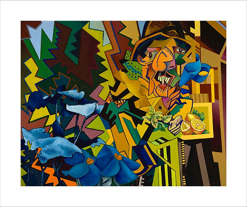Abstract Art, Gordon Snee, Landscape, The Joy of Seeing, Post War British Art, The Slade Alumini, British Abstract Art, Wyndham Lewis, Vorticism