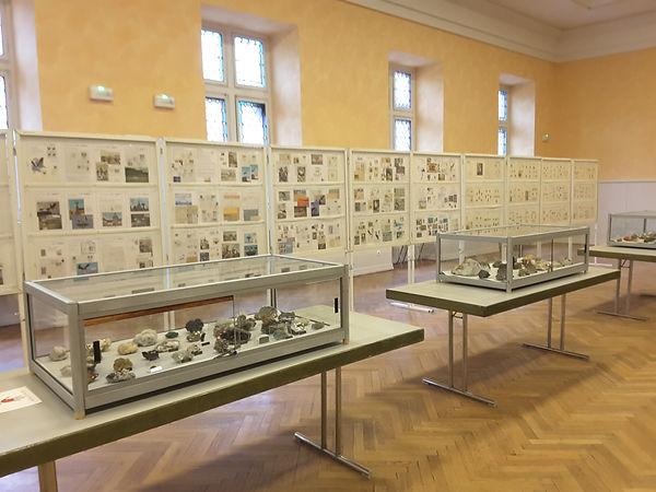 photo exposition sur les mineraux