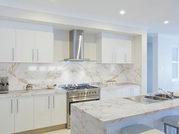Napoli Modern White Kitchen