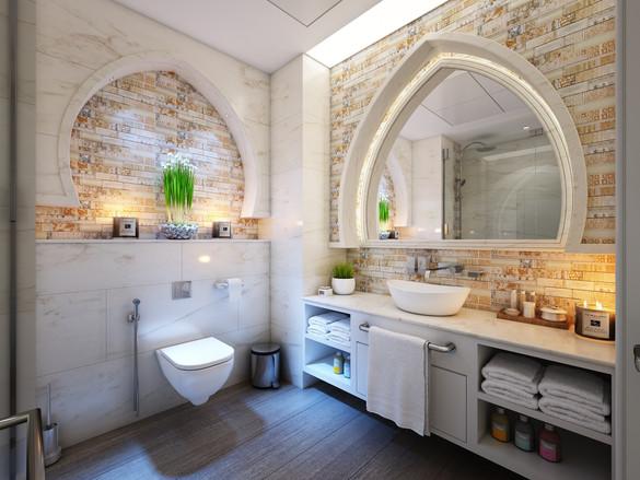 Napoli Eclectic Bathroom