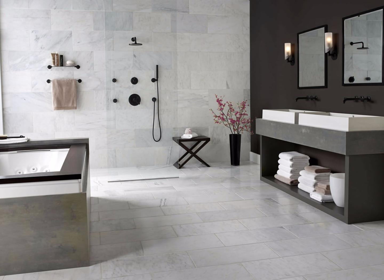 Napoli Modern Grey Bathroom