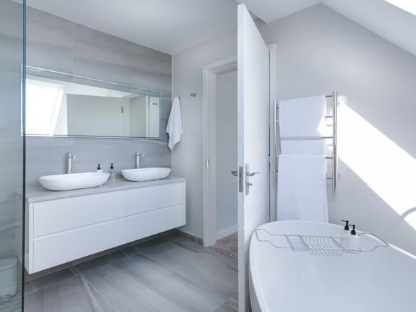 Napoli Modern White Bathroom