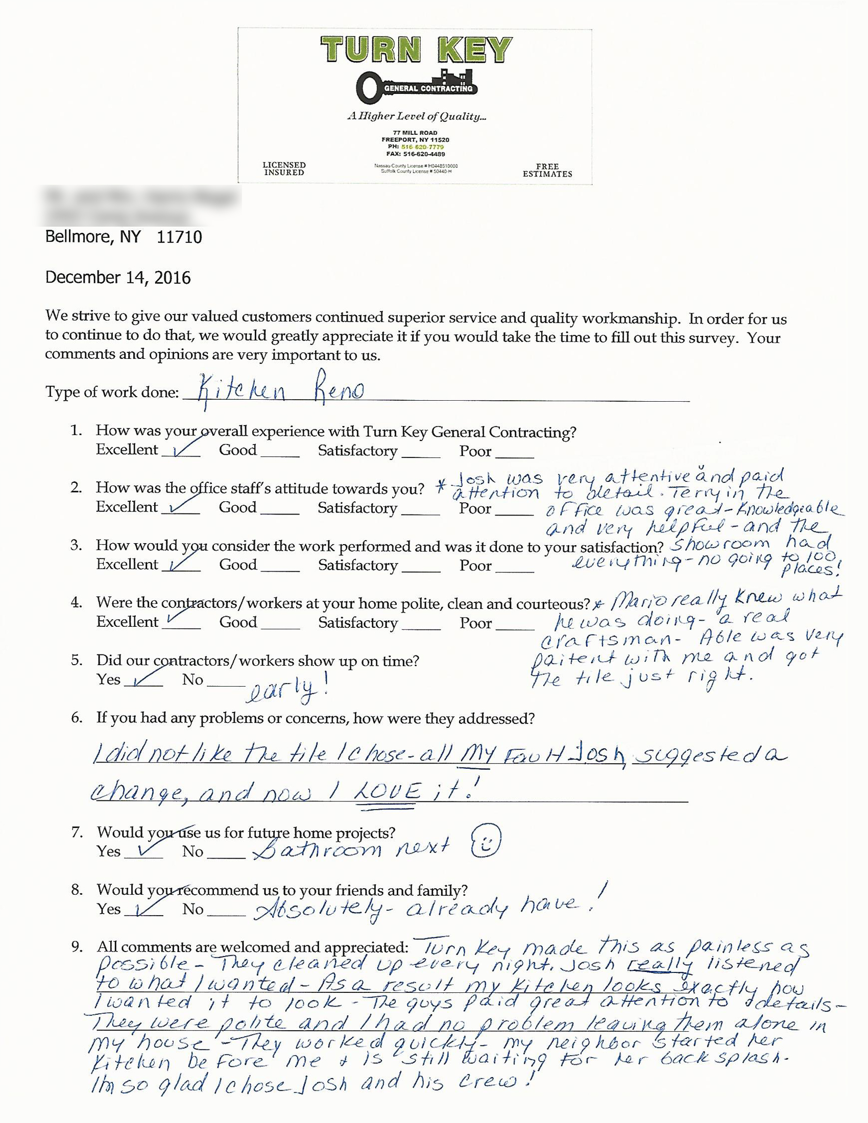 Testimonial 2016-12 Bellmore