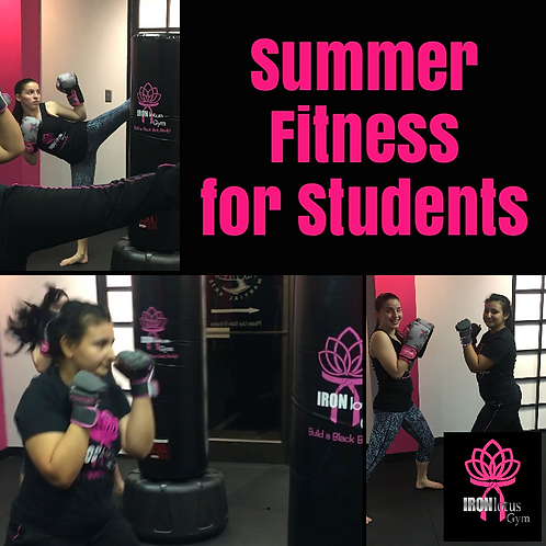 8 Weeks Summer Fitness for Students Ages 12-22