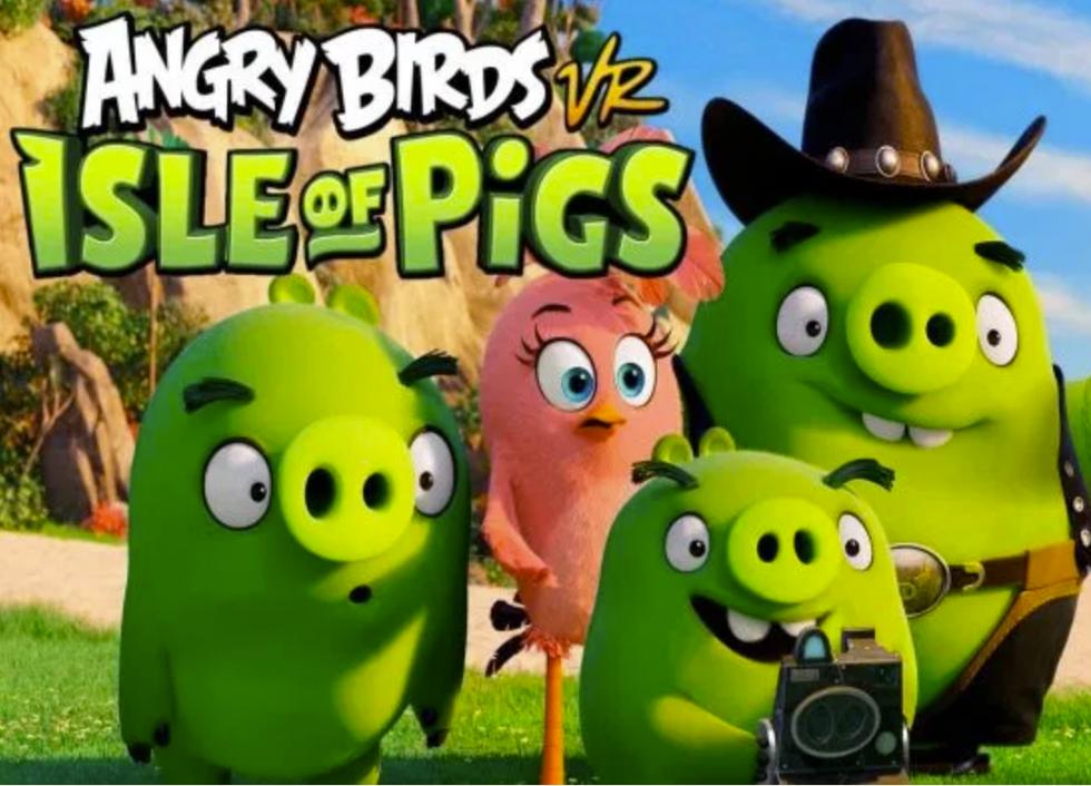 Vihaiset linnut virtuaalitodellisuudessa. Superhauska ja erittäin helposti omaksuttava VR peli. SAATAVILLA VIIKOLLA 8