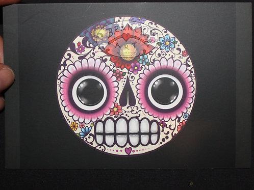 Postcard: Caldy Skull