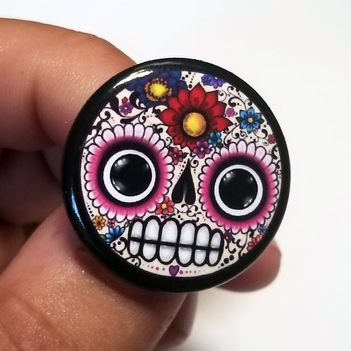 Limited Edition Caldy Skull Button