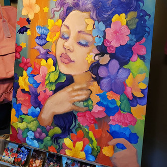 Currently on my easel