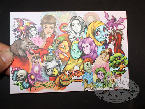 Postcard: Mashup Doodle